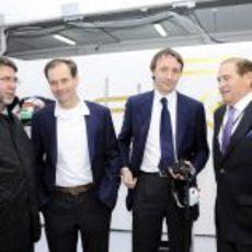 Salvador Servià, Luiz Pérez-Sala, Saúl Ruiz de Marcos y Carlos Gracia