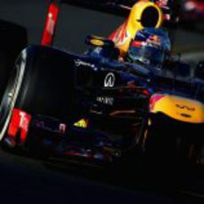 Sebastian Vettel rueda en el trazado de Albert Park