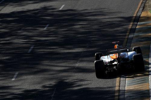Toma trasera del Force India de Paul di Resta