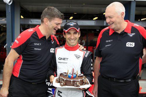 Timo Glock cumple 30 años en el GP de Australia 2012