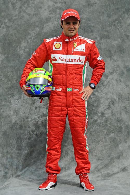 Felipe Massa, con Ferrari en 2012