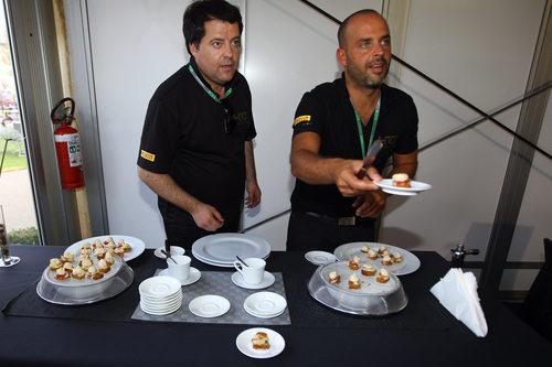 Jesús Santamaría cocinero de HRT