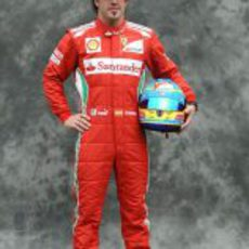 Fernando Alonso, con Ferrari en 2012