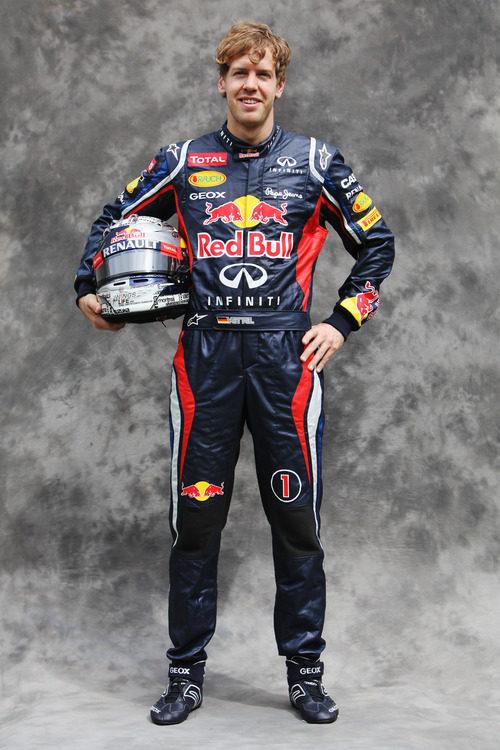 Sebastian Vettel, con Red Bull en 2012