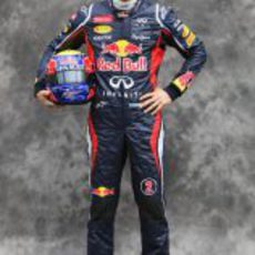 Mark Webber, con Red Bull en 2012