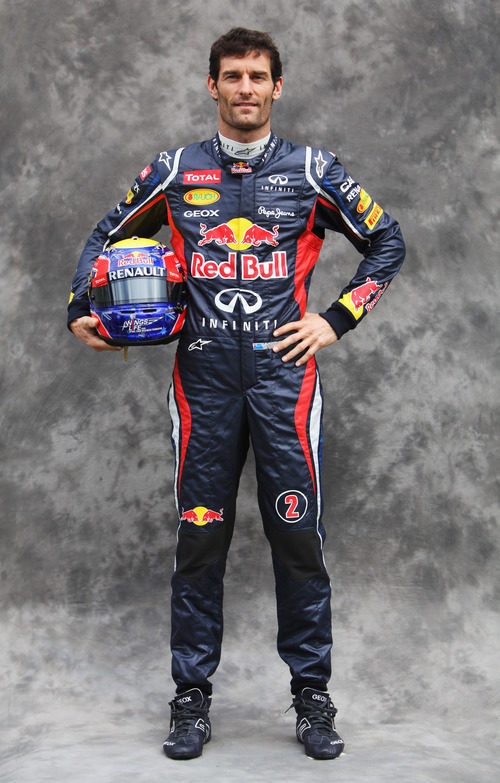 Mark Webber, con Red Bull en 2012