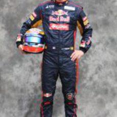 Jean-Eric Vergne, con Toro Rosso en 2012