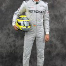 Nico Rosberg, con Mercedes en 2012