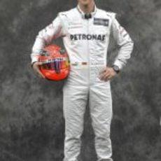 Michael Schumacher, con Mercedes en 2012