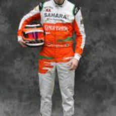 Nico Hülkenberg, con Force India en 2012