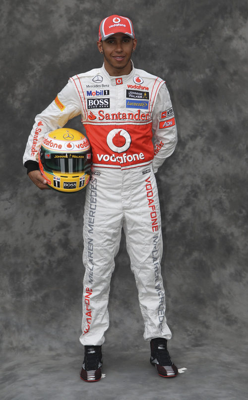 Lewis Hamilton, con McLaren en 2012