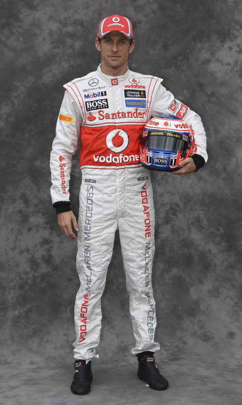 Jenson Button, con McLaren en 2012