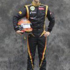 Romain Grosjean, con Lotus en 2012