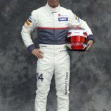 Kamui Kobayashi, con Sauber en 2012