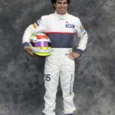 Sergio Pérez, con Sauber en 2012