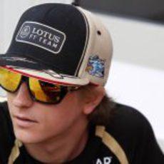 Kimi Räikkönen y 'Ice Bird' en el GP de Malasia 2012