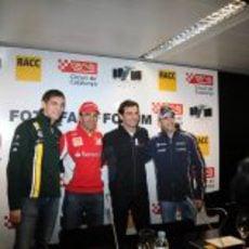 Petrov Gené De la Rosa y Maldonado en el Fota fans forum