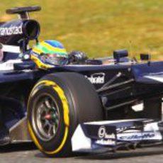 Bruno Senna prueba su nuevo Williams