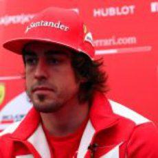 Rueda de prensa de Fernando Alonso