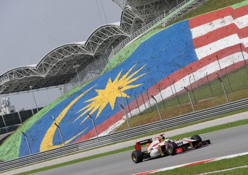 Pedro de la Rosa en los libres del GP de Malasia 2012