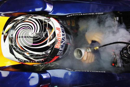 Casco de Sebastian Vettel para el GP de Malasia 2012