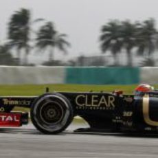 Vista lateral del €20 de Grosjean