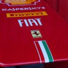 Morro del nuevo Ferrari F2012