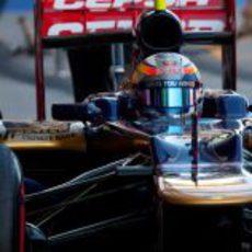 Jean-Eric Vergne subido al Toro Rosso