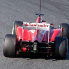 Parte trasera del F2012 de Fernando Alonso