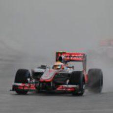 Lewis Hamilton lidera el GP de Malasia 2012