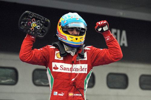 La rabia de Fernando Alonso en el GP de Malasia 2012