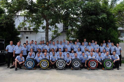 Pirelli, foto de familia 2012