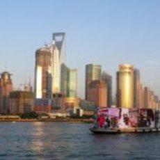 Ciudad de Shanghái en China