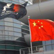 La Fórmula 1 ya ondea en China