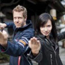 'Kung Fu Vettel', el nuevo corto del bicampeón
