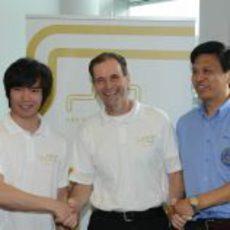 HRT presenta en sociedad a Ma Qing Hua