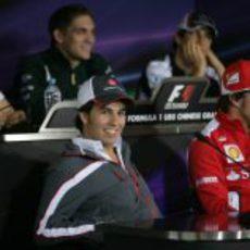Rueda de prensa de la FIA del jueves