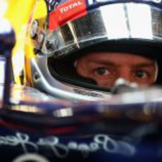 Plano del casco de Sebastian Vettel