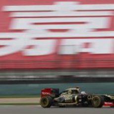 Kimi Räikkönen en los entrenamientos libres del GP de China