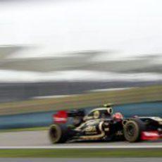 Romain Grosjean en los entrenamientos libres del GP de China