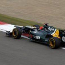 Heikki Kovalainen durante los terceros libres del GP de China