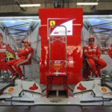El alerón del F2012 en el GP de China