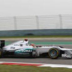 Michael Schumcaher saldrá segundo, completando el doblete de Mercedes