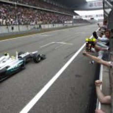 Nico Rosberg gana el GP de China 2012