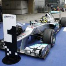 Nico Rosberg es el número 1 en Shanghái 2012