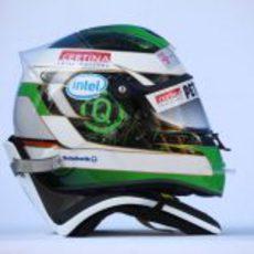 El casco de Heidfeld