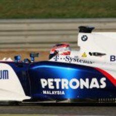 Kubica en el BMW sauber F1.09