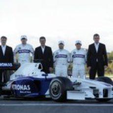 La presentación del nuevo BMW Sauber F1.09