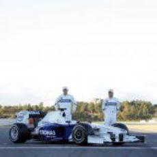 Heidfeld y Kubica