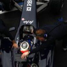 Hulkenberg prueba el FW31